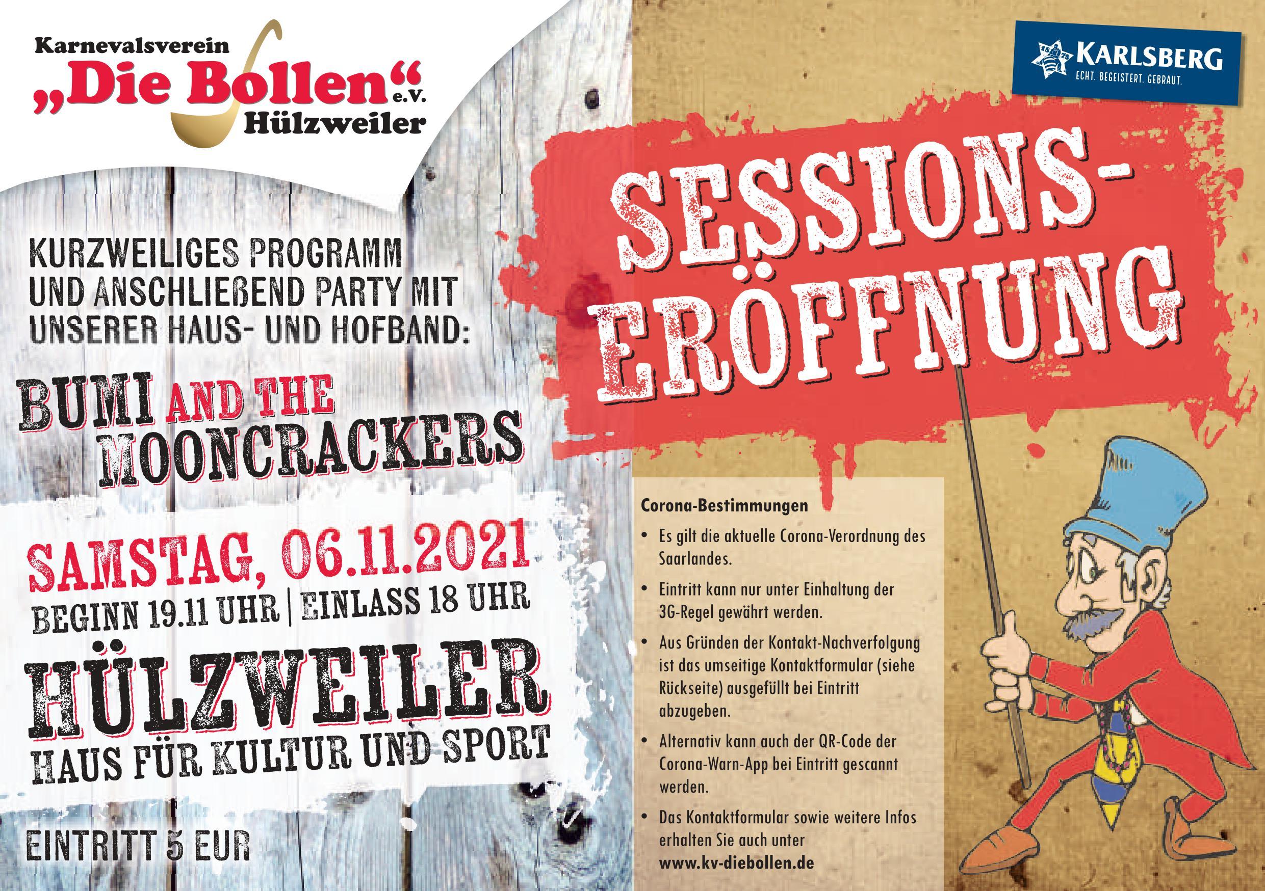 """Sessionseröffnung KV """"Die Bollen"""" 2021"""